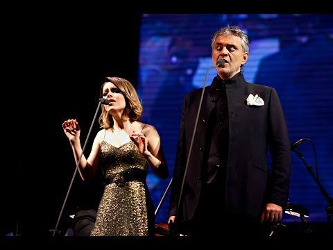 Andrea Bocelli part Sandy  Vivo Por Ella