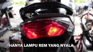 TUTORIAL MENGGANTI LAMPU BELAKANG VARIO 150cc