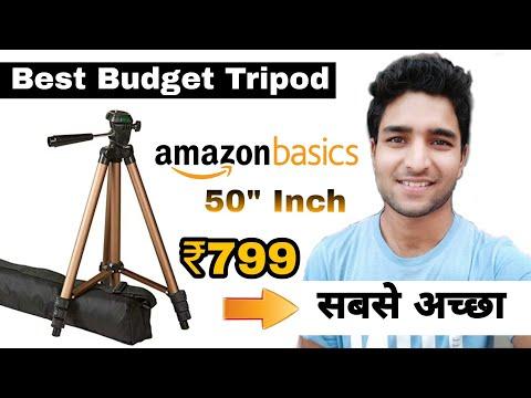 Amazon Basics Tripod Unboxing and Full Review | Best Tripod at 799 | Akash Mavi