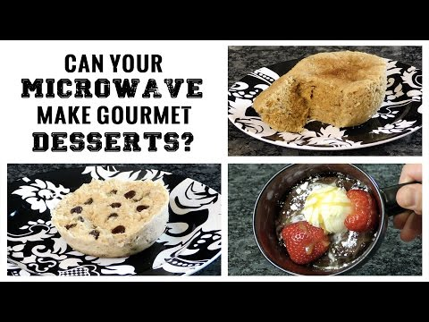 Can Your Microwave Make Gourmet Desserts In 90 Seconds?