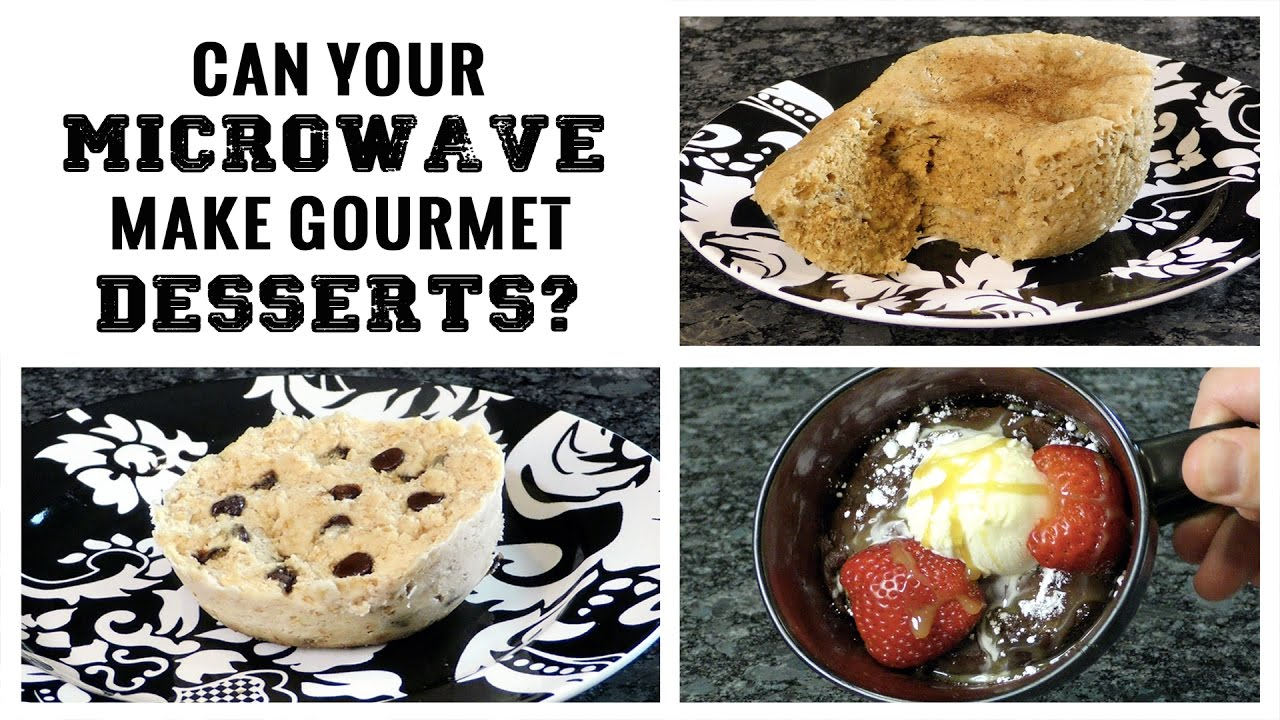 on can your microwave make gourmet desserts in 90 se