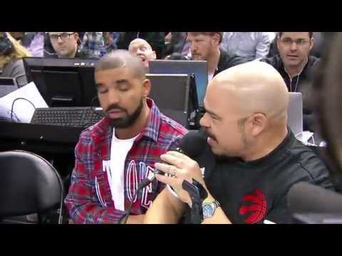 Drake Introduces the Toronto Raptors