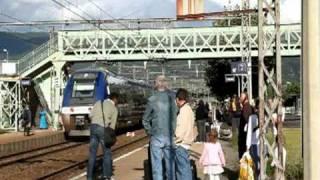 4 TER & 1 TGV à CULOZ