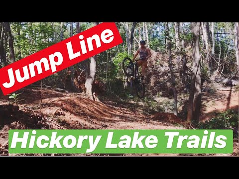 Lake Hickory Trails - Jump Line