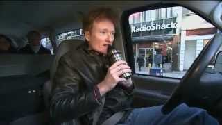 Conan Drives Commuters During The NYC Transit Strike