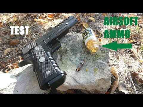 AIRSOFT PAINTBALL Test Ammo