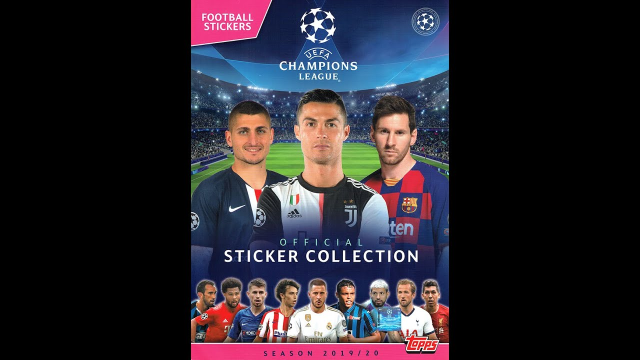 Album Completo Uefa Champions League 2019 2020 Youtube