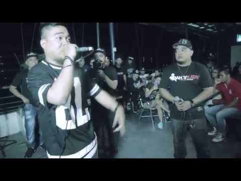 Bahay Katay - Flict-G Vs Stubborn - Rap Battle @ Giniling Festival Pt. 2