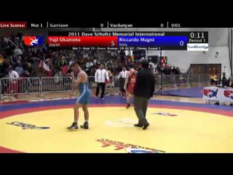 Schultz Greco 66kg Yuji Okamoto (JPN) vs. Riccardo...