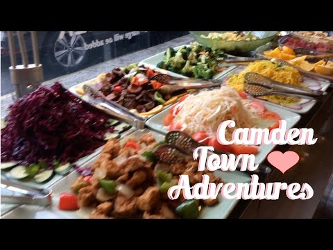 Camden Town Markets + Huge Vegan Buffet⎜VLOGTOBER DAY 24