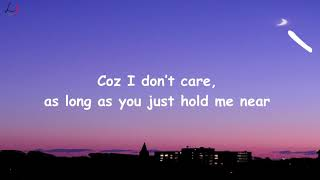 Download Ed Sheeran & Justin Bieber - I Don't Care [Lyric Video] Mp3 and Videos
