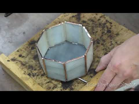 Making A Stained Glass Hinged Box