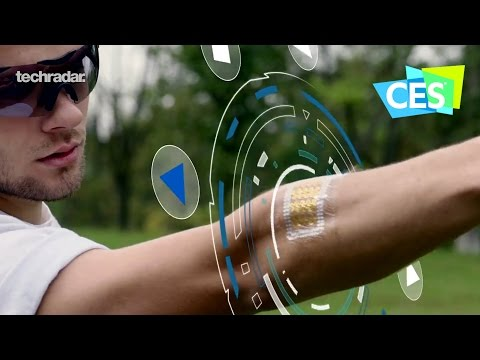 A Smart Tattoo at CES 2017 to replace the wearable weighing you down