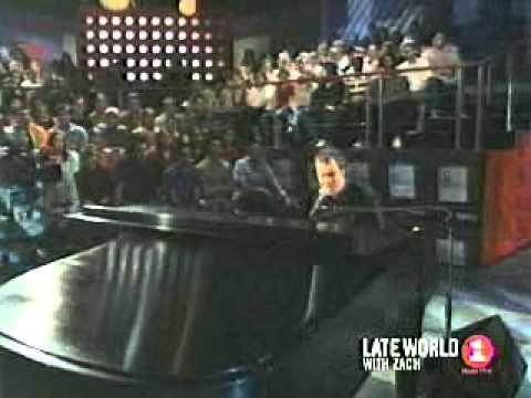 Ben Folds - Fred Jones part 2 (live on Late World with Zach)