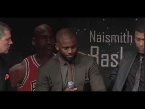 Chris Paul breaks down in tears talking about his first trip to the hall of fame