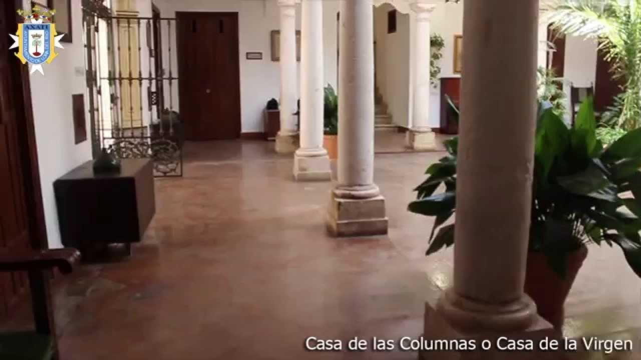 3 casa de las columnas o casa de la virgen www - Como decorar una columna ...