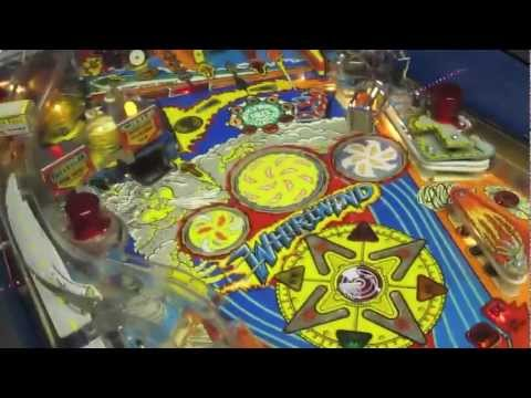 Williams Whirlwind Pinball Review - In-depth Gameplay and Hardware Review - System 11b