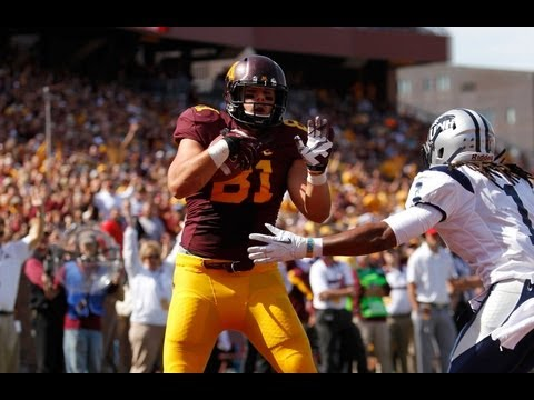John Rabe Interview: Gophers Defeat New Hampshire 44-7