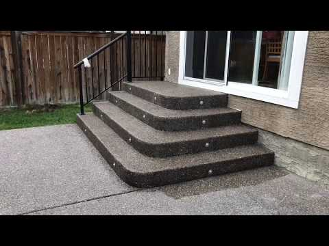 How to Seal Concrete (exposed aggregate)