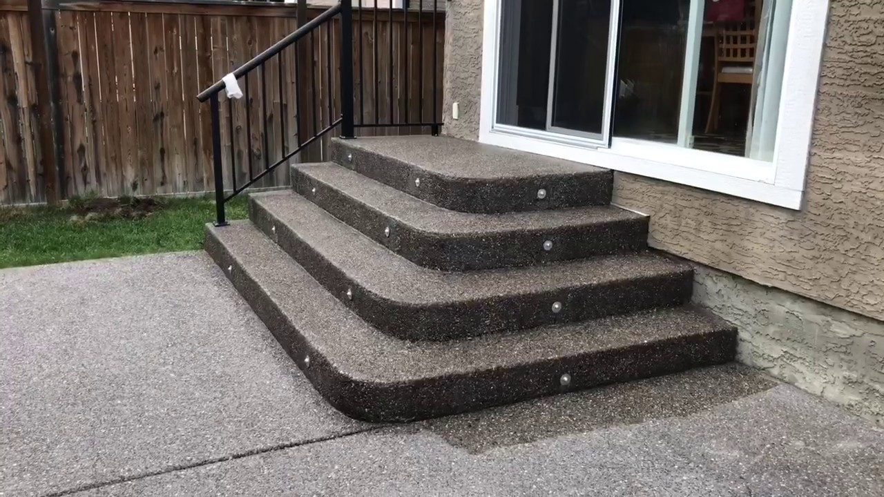 How To Seal Concrete Exposed Aggregate You