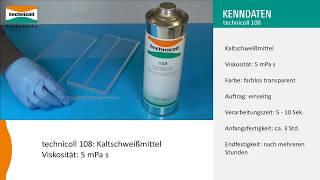 technicoll 108 - Kunststoff Polycarbonat verkleben