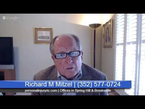 Car Accident Lawyer Brooksville FL | Richard M Mitzel PA