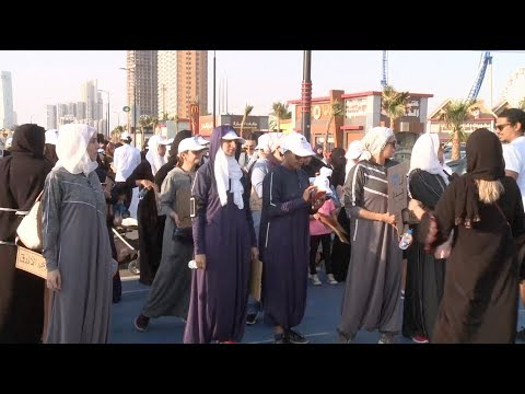 Rebellious fashion: Saudi women embrace sports abayas