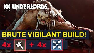 Brute Vigilant Builds! Heartless Brute Vigilant Combo! | Dota Underlords
