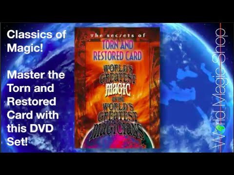 Torn and Restored (World's Greatest Magic) - DVD