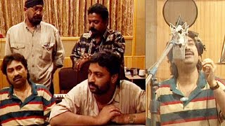 Kumar Sanu Recording For Album Humsafar (1996)   Flashback Video