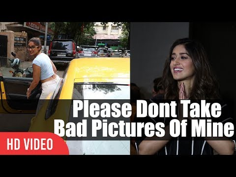 Please Dont Take Bad Pictures Of Mine | Ileana D'Cruz To Media Photographers