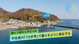 静かで便利な伊豆の町・宇佐美の『うさぎ亭』で暮らすように滞在する