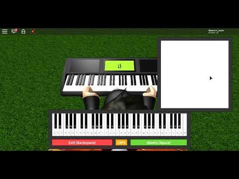 Faded Alan Walker Roblox Piano Keyboard V1 1 Youtube