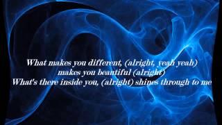 Backstreet Boys- What Makes You Different (Makes You Beautiful) Lyrics HD