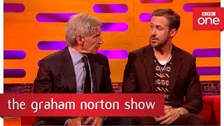Harrison Ford can't remember Ryan Gosling's name - The Graham Norton Show: 2017 - BBC One