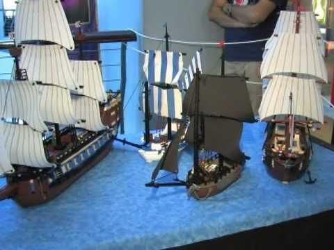 Lego shipbuilding at the Hampton Roads Naval Museum at Nauticus - Norfolk VA