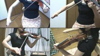 全くの初心者向けバイオリンの基本練習 半弓/全弓でボーイング