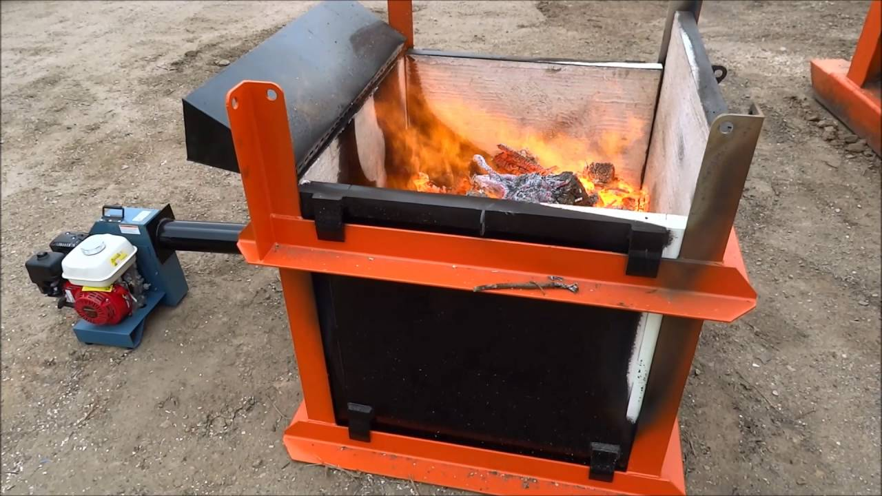 burnwell incinerators micro air curtain portable incinerator