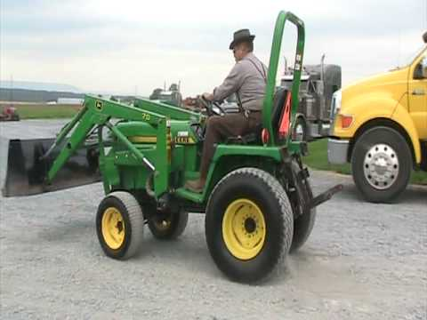 john deere 755 youtube. Black Bedroom Furniture Sets. Home Design Ideas