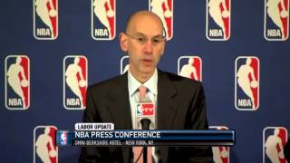 THE NBA ANNOUNCES THE LOCKOUT     06   30   2011