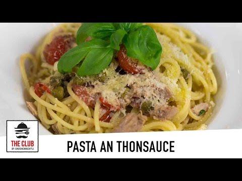 Pasta an Thonsauce - schnell, einfach & lecker | Rezept #82