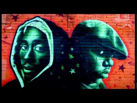 Notorious Big VS 2Pac Ghetto Gospel.
