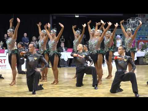 Vera Tyumen Latin Team, RUS | 2015 World Formation Latin | The Final | DanceSport Total