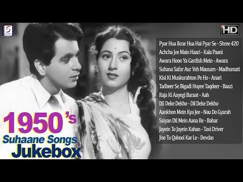 1950's-super-hit-suhaane-songs-jukebox---b&w---hd---part-1