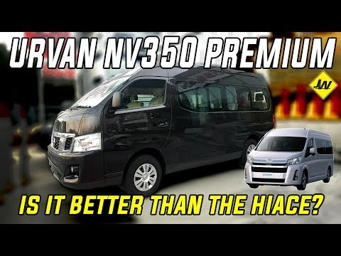 Nissan Urvan Premium NV350 MT  -Vehicle Tour, Review  -Is It Better Than The Hiace  Philippines
