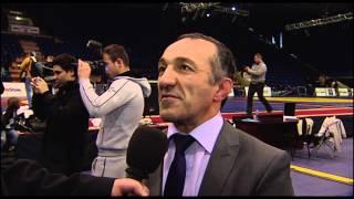 Натик Надирович Багиров - итоги финалов открытого чемпионата  по самбо 2015