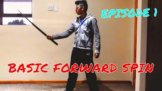 Cool Sword Trick Tutorials-Episode 1: Basic Forwardspin