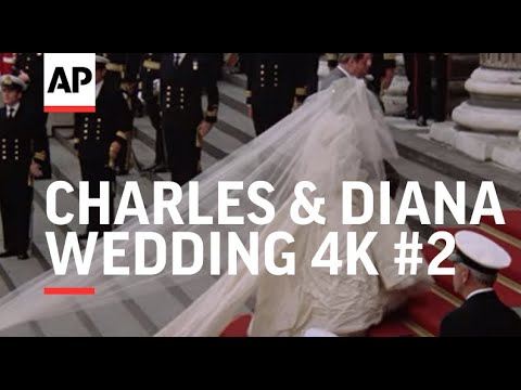 Watch Newly Restored Footage of Charles and Diana's Wedding