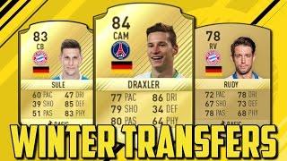Fifa 17: die krassesten winter transfers