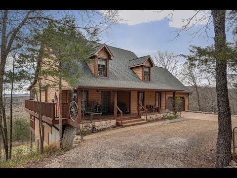 Branson MO Lake Home For Sale, Branson MO Drone Video